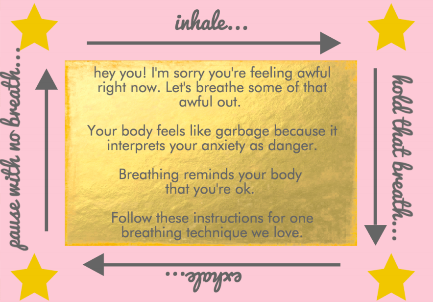 Here's a trusty shareable from Ravishly's self-care ebook, which you can view in full if you subscribe to our newsletter!