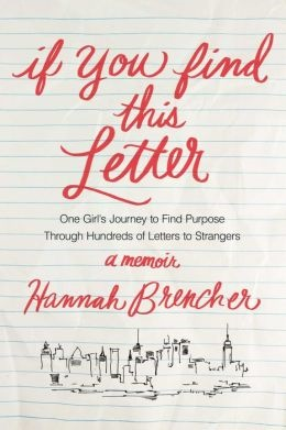 hannah brencher founder the world needs more love letters