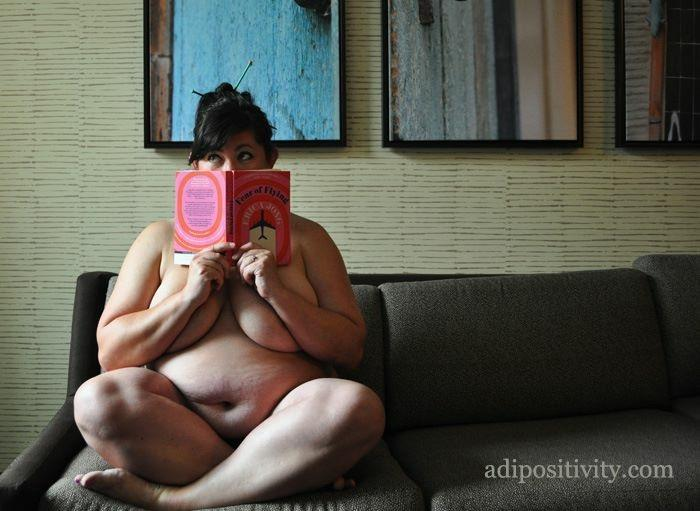 There is nothing a thinner body could give me that I do not already have. Image: Substantia Jones and The Adipositivity Project