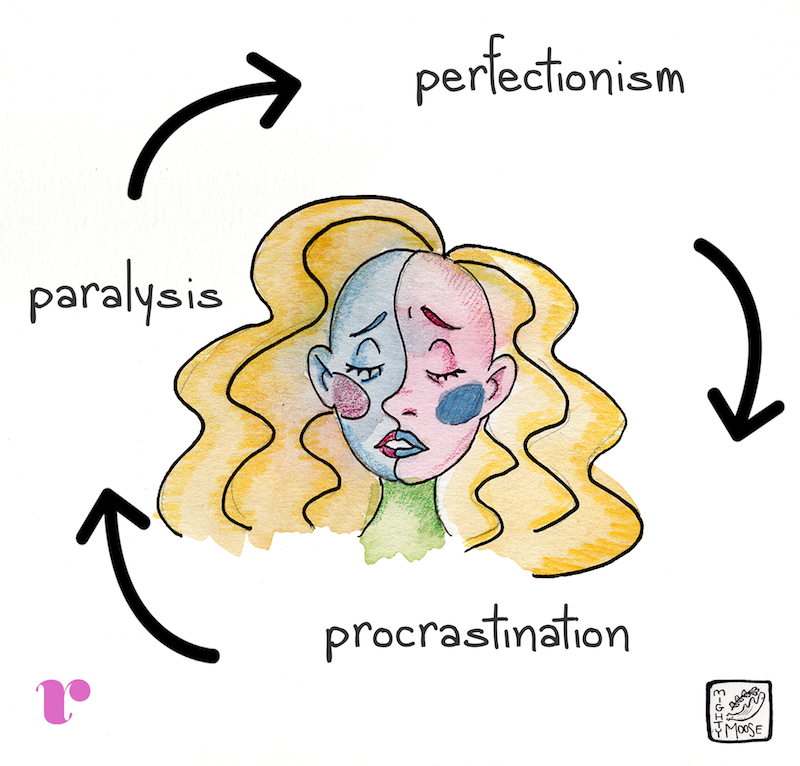 Perfectionism is exhausting. It steals your time, your energy, your joy, your life.