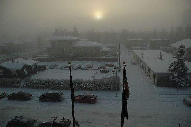 "It's the most wonderful time of the year... Image: <a href=""https://commons.wikimedia.org/wiki/File:Anchorage_winter_sun.jpg"">Wikipedia</a>"