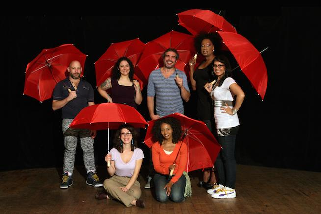 The Cast of The Red Umbrella Diaries.