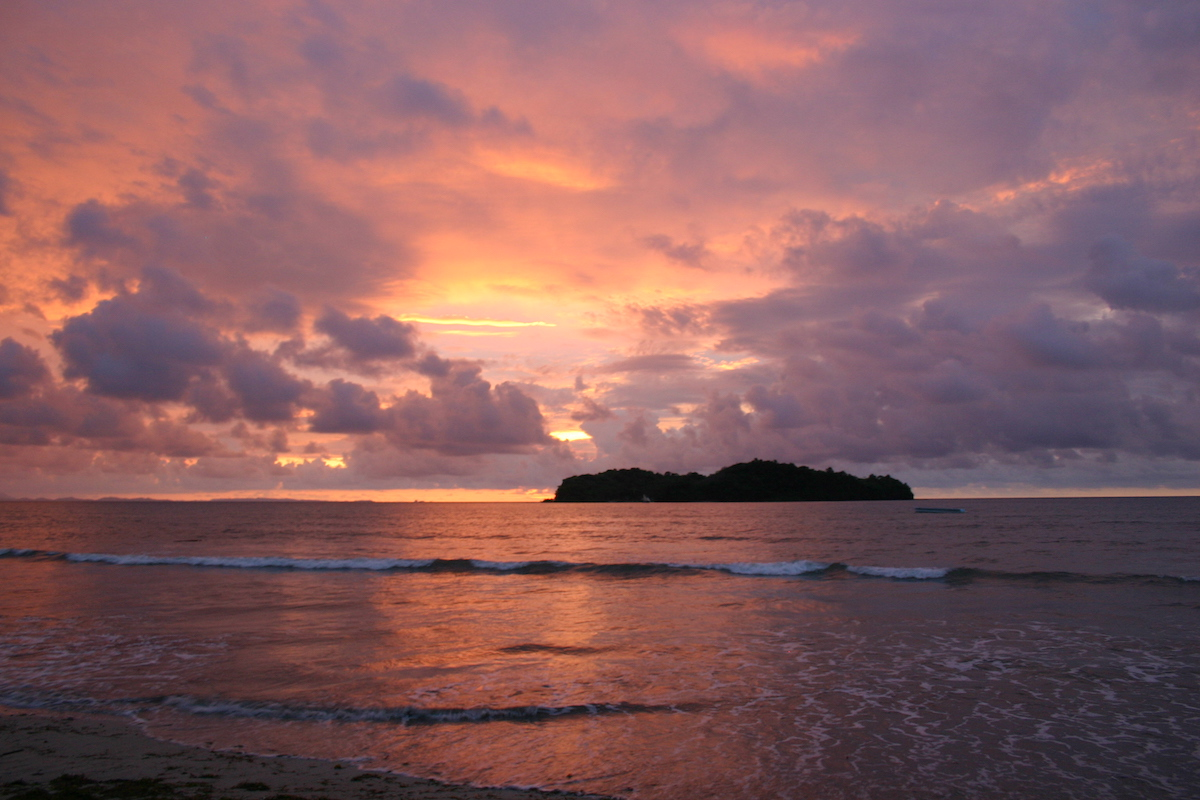 Photo of sunset in Madagascar courtesy of the author.