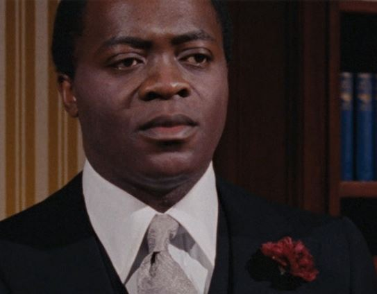 Yaphet Kotto as Dr. Kananga in Live and Let Die