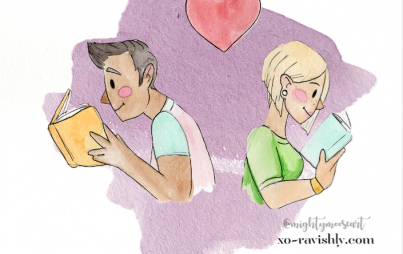 You and your partner need to connect over more than scheduling and chore lists. Here are some fun ways to stay in the romance zone. (Image Credit: Mariah Sharp aka @mightymooseart)