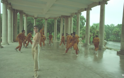 "Screenshot from ""Don't Touch My Hair"" music video by Solange"