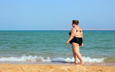 I wasn't just wearing a swimsuit; I was moving in one. Image: Thinkstock.