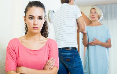 Being with your partner's dysfunctional family is an exercise in self-restraint.