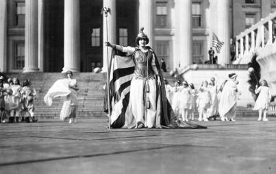 Image of the 1913 Women's Suffrage Parade courtesy of the Library of Congress