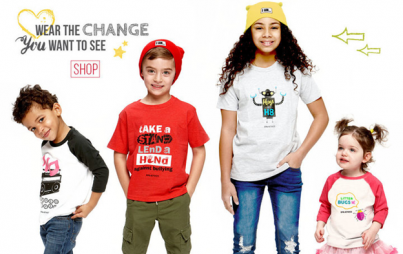 Little Activists offers kids clothing that sends a positive message of action.