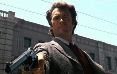Dirty Harry may be a highly entertaining character, but he is not a role model I would want my son to emulate. Image: Warner Brothers.