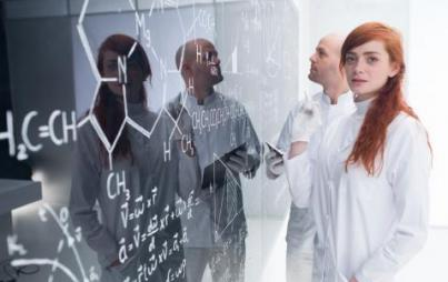 Oh, don't mind me, looking fierce in a lab coat and all. Credit: Thinkstock