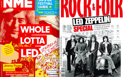 Led Zeppelin, rocking the front covers. Credit: Facebook