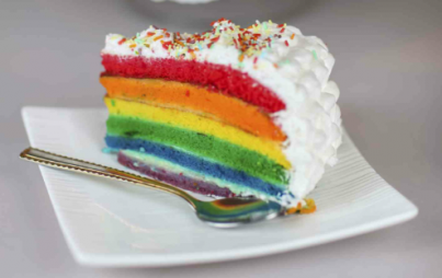 Little known fact: gay divorce cake is extra delicious. Courtesy of ThinkStock