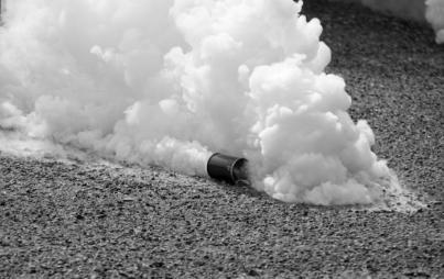 Tear gas (Credit: ThinkStock)