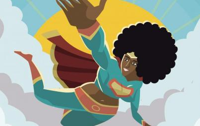 Black Female Superhero