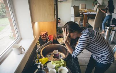 I'm learning to let go of my perfectionism.