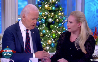 Joe Biden and Meghan McCain on The View