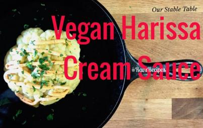 Vegan Harissa Cream Sauce Recipe