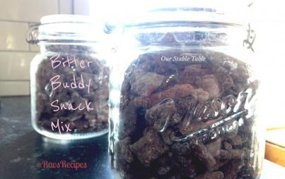Who needs another sugary treat this year? Try Bitter Buddy Mix!