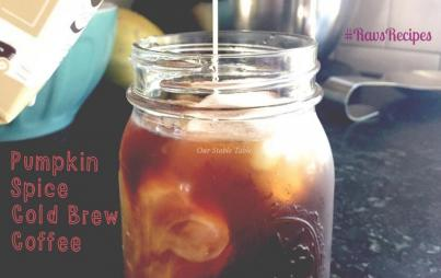 #RavsRecipes: Cold-Brew Pumpkin Spice Coffee