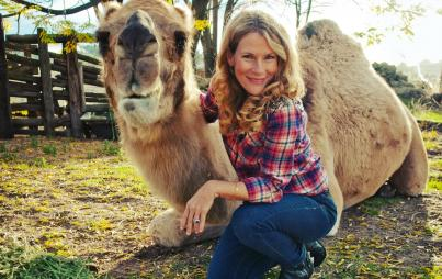 Camel Crazy author Christina Adams